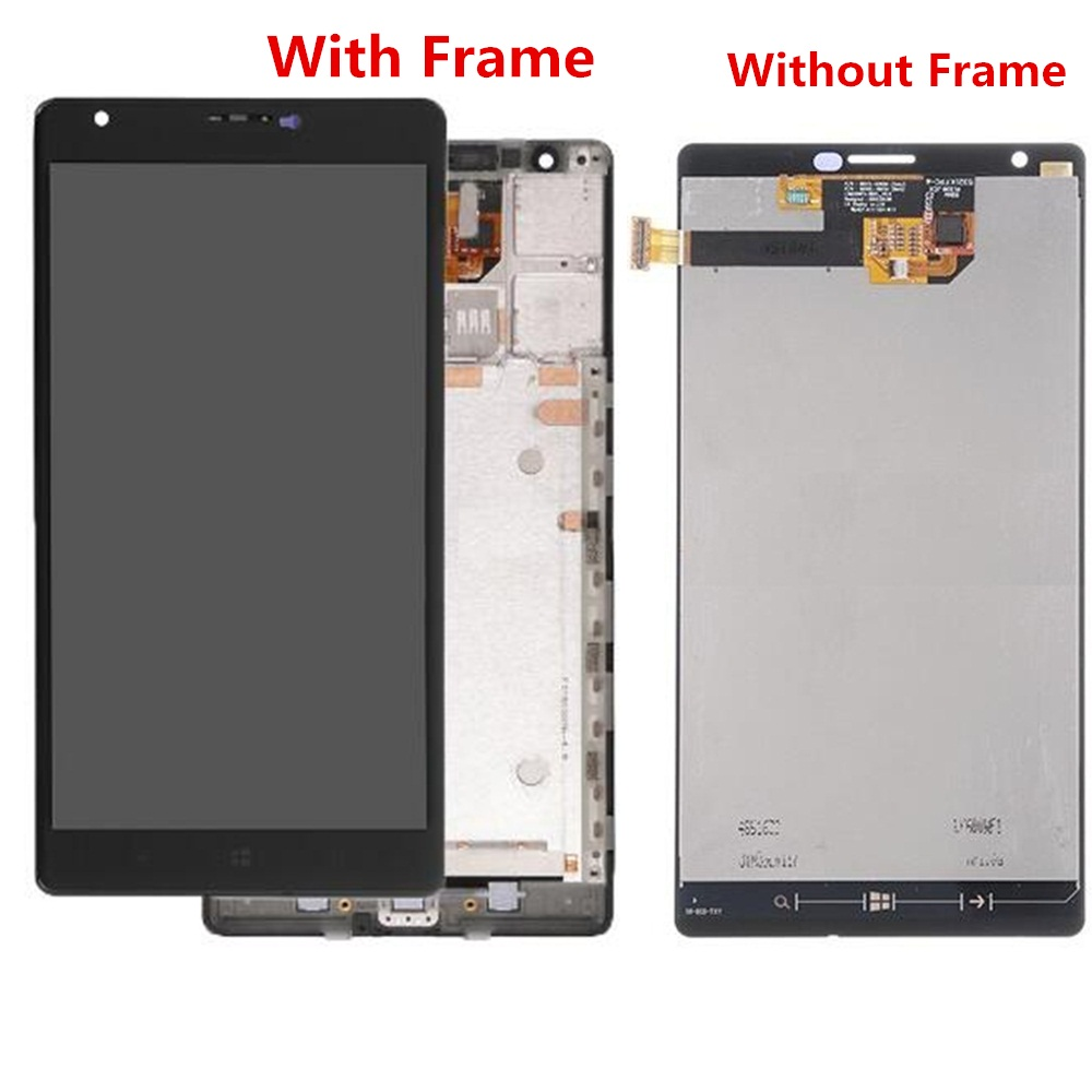 For Nokia Lumia 1520 LCD LCD Screen and Digitizer Assembly Replacement!!(Black)