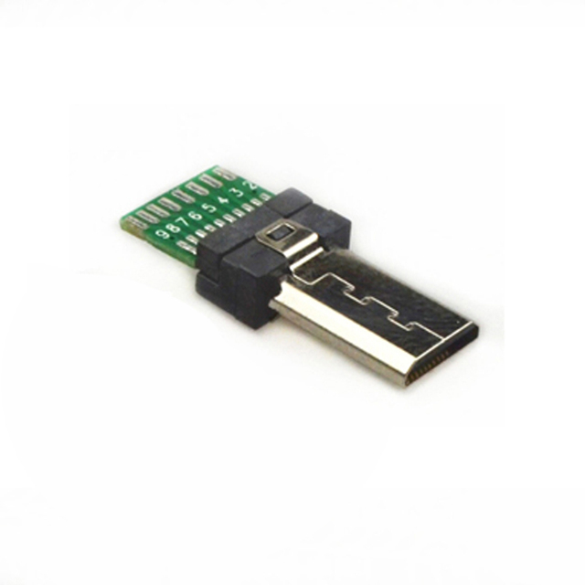 15 Pin Mini USB PCB Connector Micro 15pin usb Connector Data USB 1-100 Pack Male Jack for Sony Digital Camera MP3 Xperia M C1904