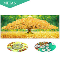 Meian 3D DIY Diamond Embroidery 5D Diamond Painting Diamond Mosaic Tree Needlework Crafts Christmas Decor