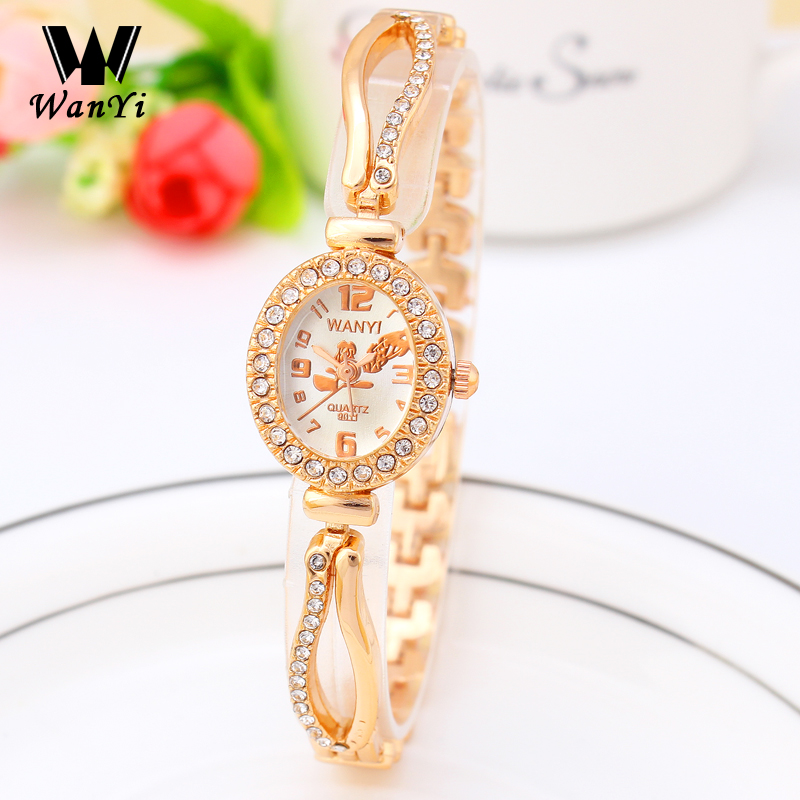 Ladies Gold Watches Brand Women Bracelet Watches Quartz Thin Strap Wrist Watch Women Wristwatch relogio feminino Clock Female