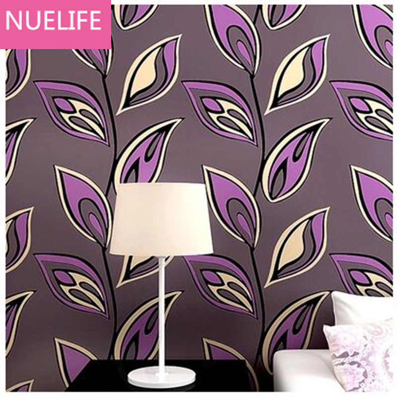 0.53x10m Modern colorful abstract leaf pattern living room bedroom restaurant bedside sofa TV background nonwoven wallpaper N4 modern simple wallpaper fashion grain pattern nonwoven nonwoven 3d mural wallpaper tv sofa bedroom background wallpaper