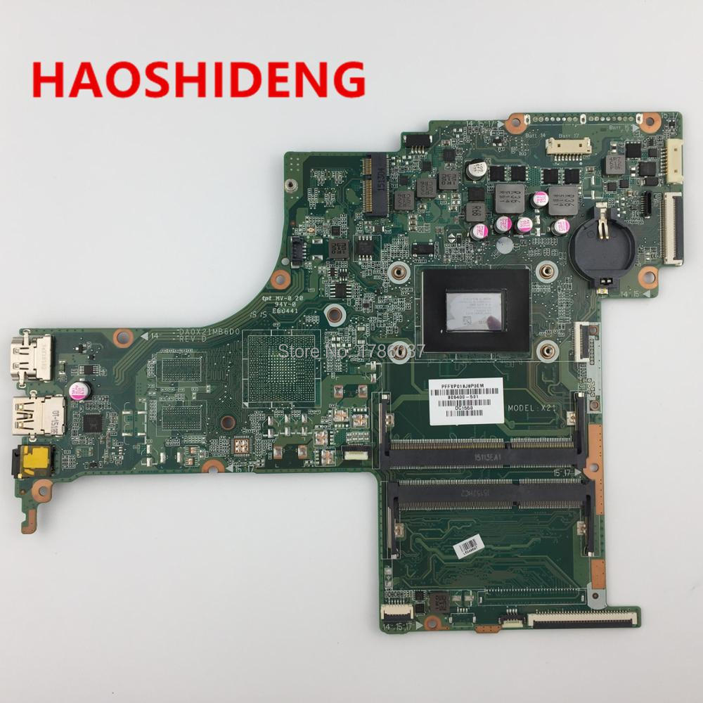 809400-501 809400-601 DA0X21MB6D0 X21 for HP Pavilion 17-G 17-G121WM series motherboard with A10-8700P CPU.All fully Tested! 744008 001 744008 601 744008 501 for hp laptop motherboard 640 g1 650 g1 motherboard 100% tested 60 days warranty