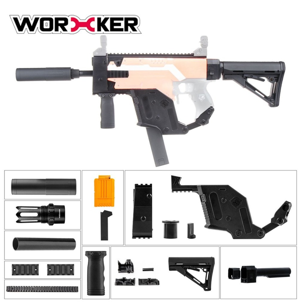WORKER Dagger Cover Updated Version Modified Kit Kriss Vector Imitation Kit Special for Nerf Stryfe Modify Toys for Kids Gift