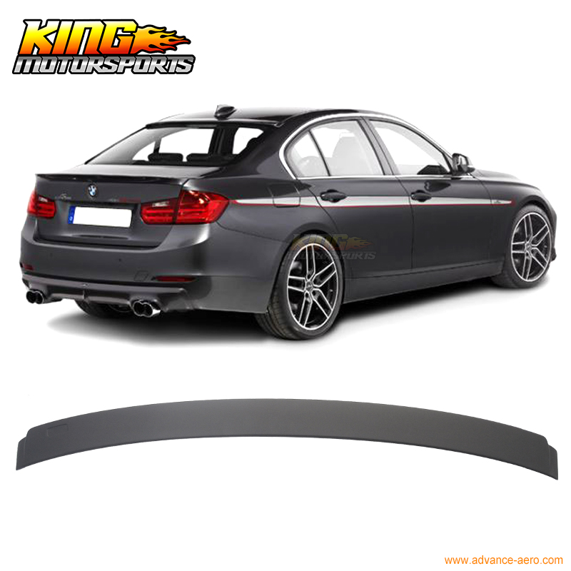 For 2012 2016 BMW 3 Series F30 4Dr Ac S Rear Roof Spoiler