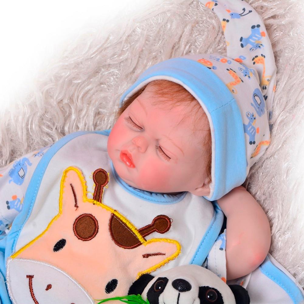 KEIUMI 2018 Silicone Baby Twins Reborn Dolls 43 cm Handmade Fashion Reborn Boneca For Girl and Boy 17 Playmates Birthday Gifts