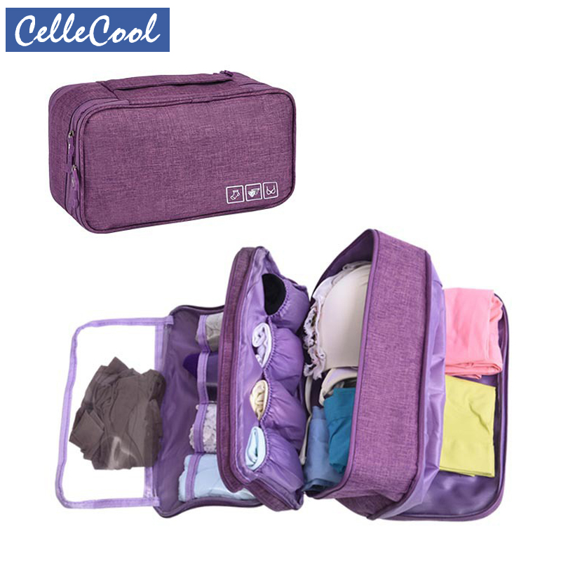 Drawer Organizers Bra Underware Travel Storage Dividers Box Bag Socks Briefs Cloth Case Clothing Wardrobe Accessories Supplies