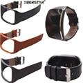 Genuine Leather Wrist Strap Watchband For Samsung Gear S SM-R750 Smart Watch