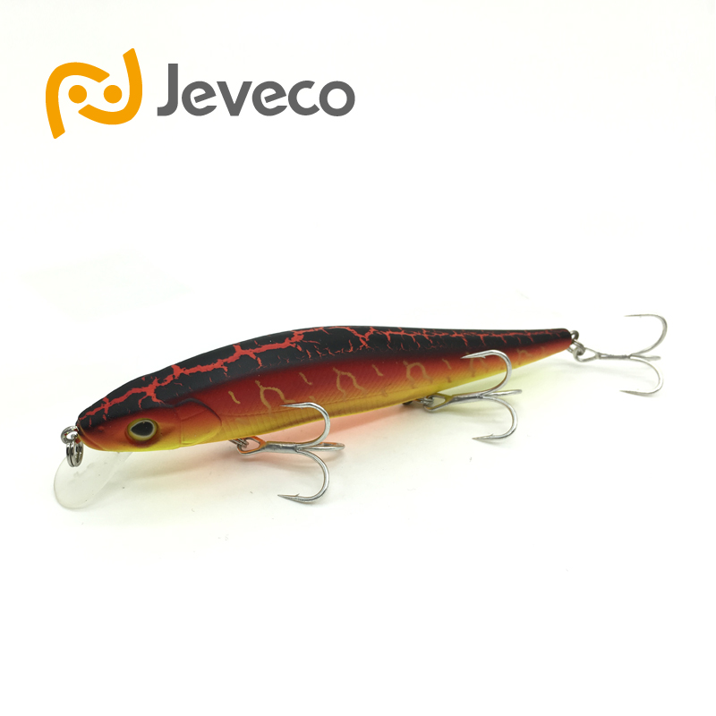 Jeveco JVC004 font b fishing b font lures three Hooks hard lure fake bait artificial bait