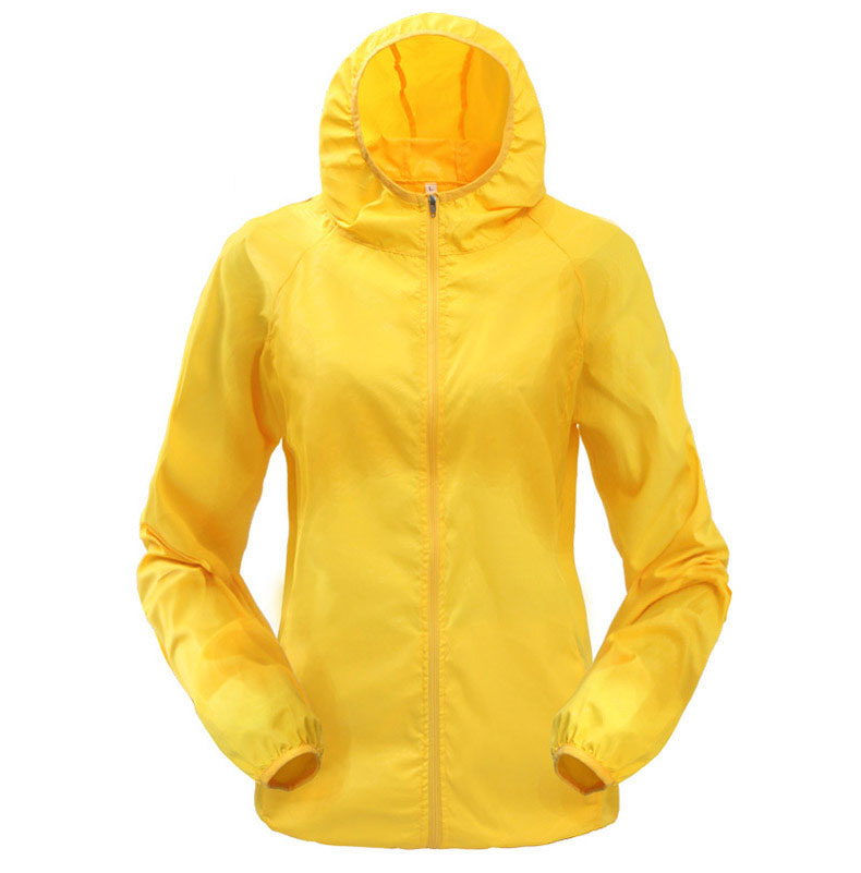 Large Size Compressed Hooded Quick Dryinge Outdoor Camping Trekking Climbing Waterproof Windproof Hiking Jackets