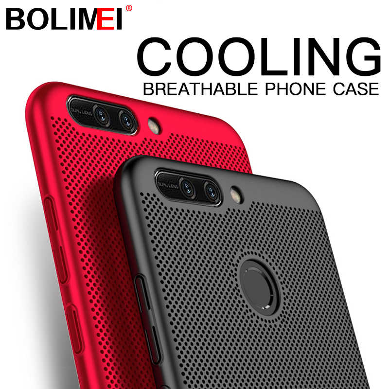 PC Heat Dissipation Phone Case For huawei P10 P20 Lite Honor 9 10 Shockproof Cover For Huawei P20 Pro P10 Plus Plastic Cases
