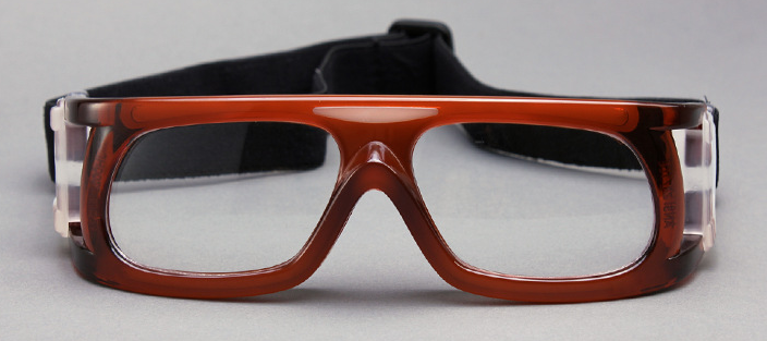 Prescription basketball glasses sports for middle size can put diopter lens for squash cricket football
