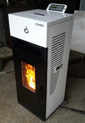family use Mini Biomass Hydrologic cycle pellet stove 6kw