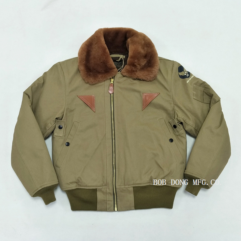 Image 2 - BOB DONG B 15A Flight Jacket For Men USAF Air Force Military Uniform Bomber B15-in Jackets from Men's Clothing