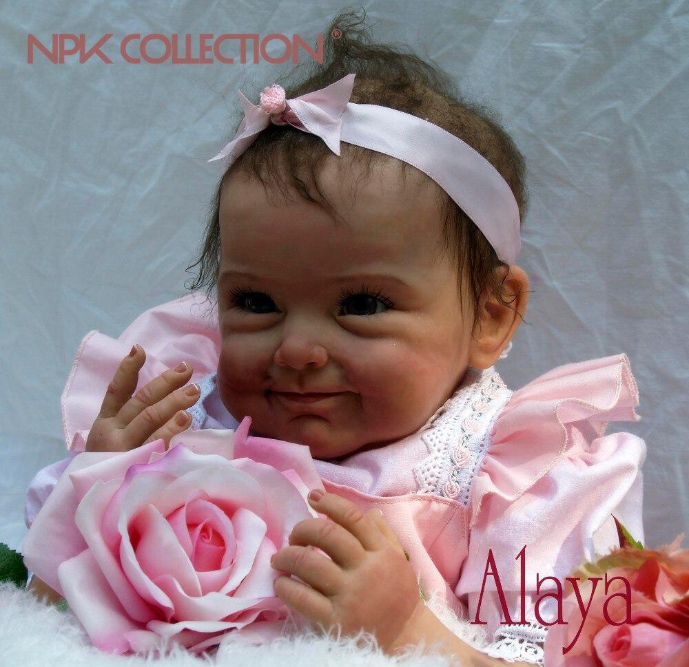 Силиконовые возрождается младенцев Bebe жив Brinquedos Bonecas подарки для девочек День рождения Рождественский подарок куклы reborn реалистичные мягк...