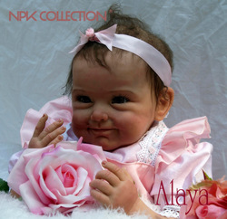 NPKCOLLECTIO 55cm Silicone Alive Reborn Baby Doll Kid Playmate Gift for Girls Baby Soft Toy for Bouquets Doll Bebes Reborn Toys