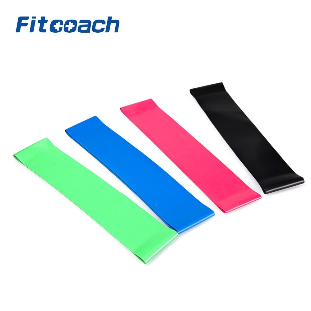 Bandas de bucle de resistencia Fitcoach-Sports, ligeras, medias - Fitness y culturismo