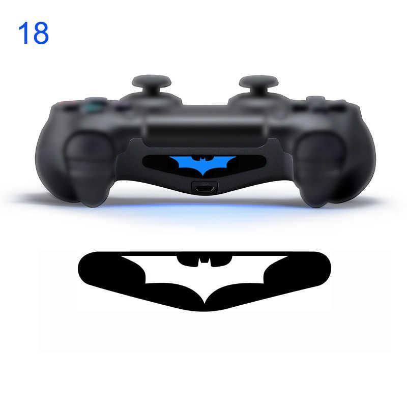 Salah Satu Bagian Stiker untuk Sony Play Stasiun 4 PS4 Controller LED Light Bar Decal Stiker Pvc untuk PS4 DualShock Gamepad kontrol
