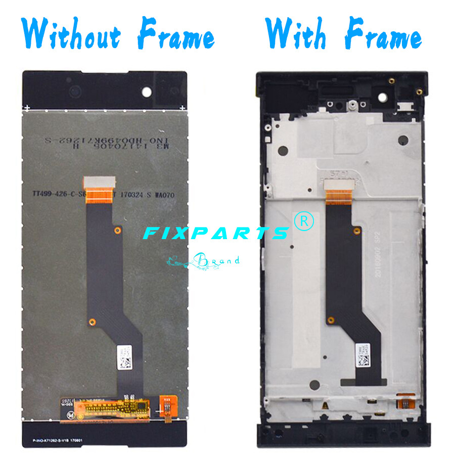 Sony Xperia XA1 LCD Display Touch Screen Digitizer Assembly With Frame