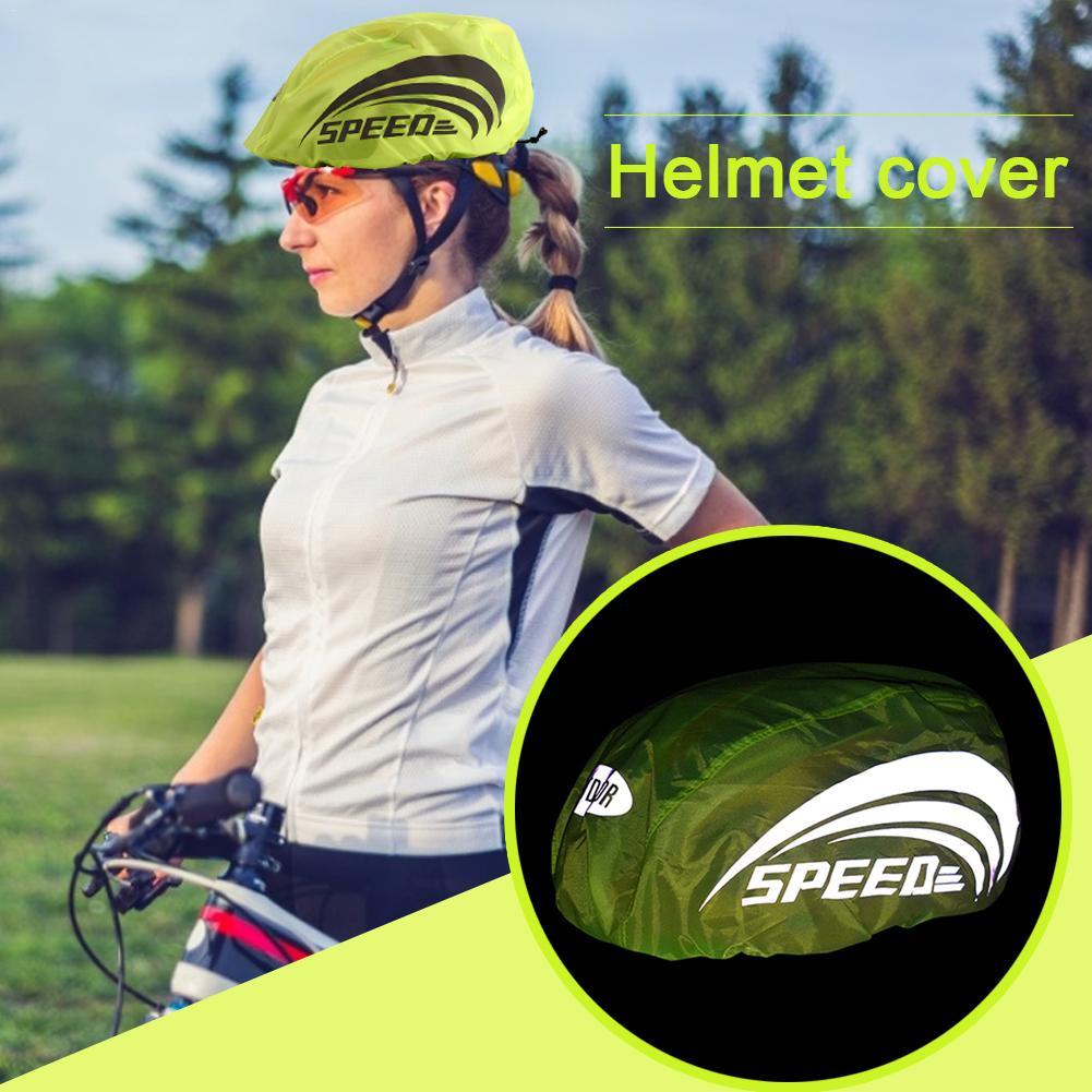 Universal Size Bike Bicycle Cycling Waterproof Helmet Rain Cover Dustproof