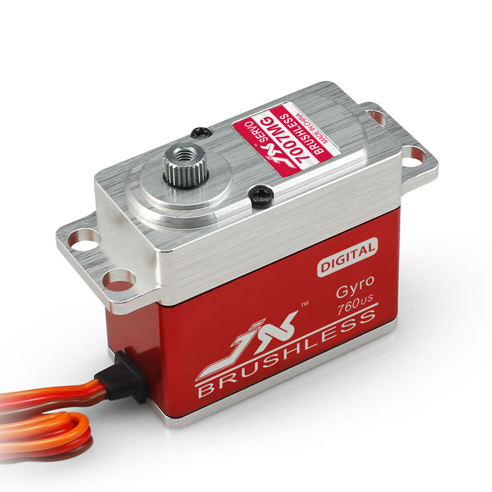 Superior Hobby JX BLS-HV7017MG 17KG High Precision Metal Gear CNC Aluminium Shell High Voltage Brushless Digital Standard Servo superior hobby jx bls hv6105mg 5kg high precision metal gear high voltage brushless digital gyro servo