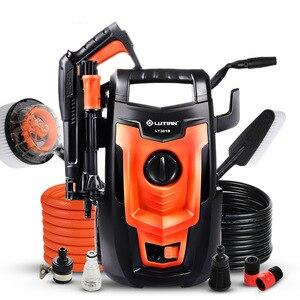 Image 1 - LT301B limpiador de alta presión con motor lavadora portátil para coche, bomba de limpieza de suelo para vehículo, 220V, 50HZ, 1,4 kW, 110Bar, 5,5 LPM
