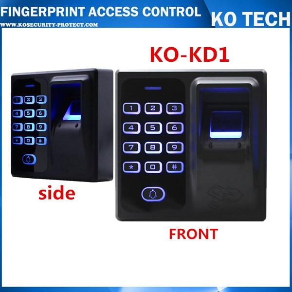Full set Finger scanner biometric fingerprint access control door access ...