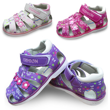 new 1pair Children Girl Leather Orthopedic Shoes, kids Fashion Sandals,New Design  shoes