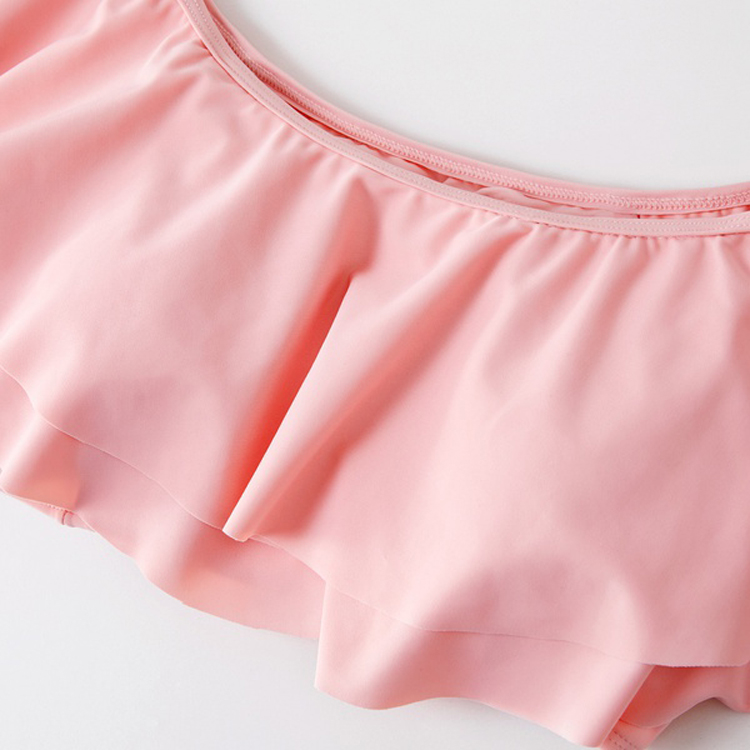 Famille correspondant maillots de bain mère fille Bikini maillots de bain Look robe père fils natation short de bain maman papa et moi vêtements 2