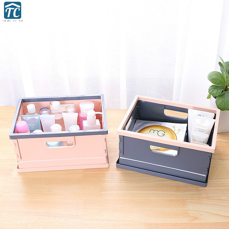 Cute Animal Collapsible Toy Storage Organizer Folding: Collapsible Storage Box Cute Home Student Dormitory