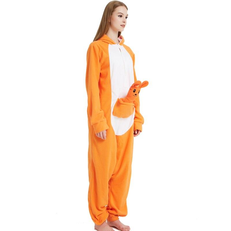 Kangaroos Pajamas Female Animals Stage Performance Womens Pajamas Kawaii Onesie Pokemon Pajamas Suit (3)