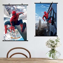 Avengers Canvas Painting Movie Iron Man Spider Paper Poster Home Decor Wall Art for Bar Cafe Living Room