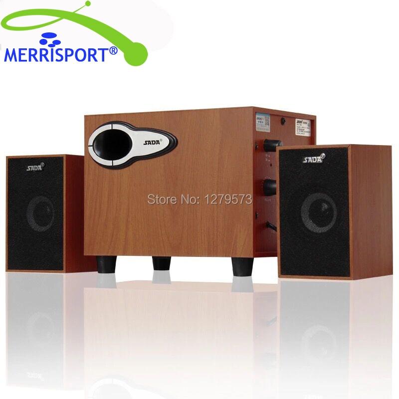 MERRISPORT 2.1 Altavoces Altavoces Multimedia con Sonido Estéreo de Altavoces de