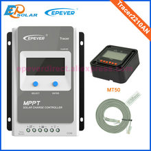 Tracer 2210AN EPsloar 20A MPPT שמש מטען Controller 12 V 24 V LCD Diaplay עם MT50 מרחוק מטר(China)