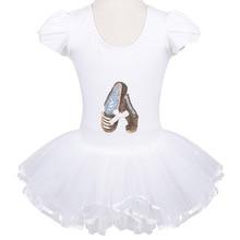 Dance Shoes Dancewear Skate Party Show Dress Dress Leotard Ballet Tutu Dress SZ3-8Y