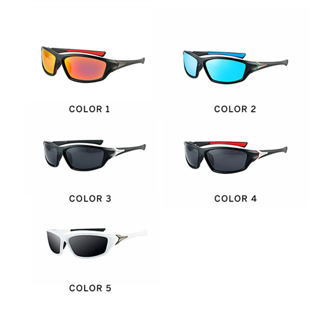 2018  Luxury Brands sunglass sport Polarized Men Driver Mirror sunglasses Gafas Outdoor UV400 women
