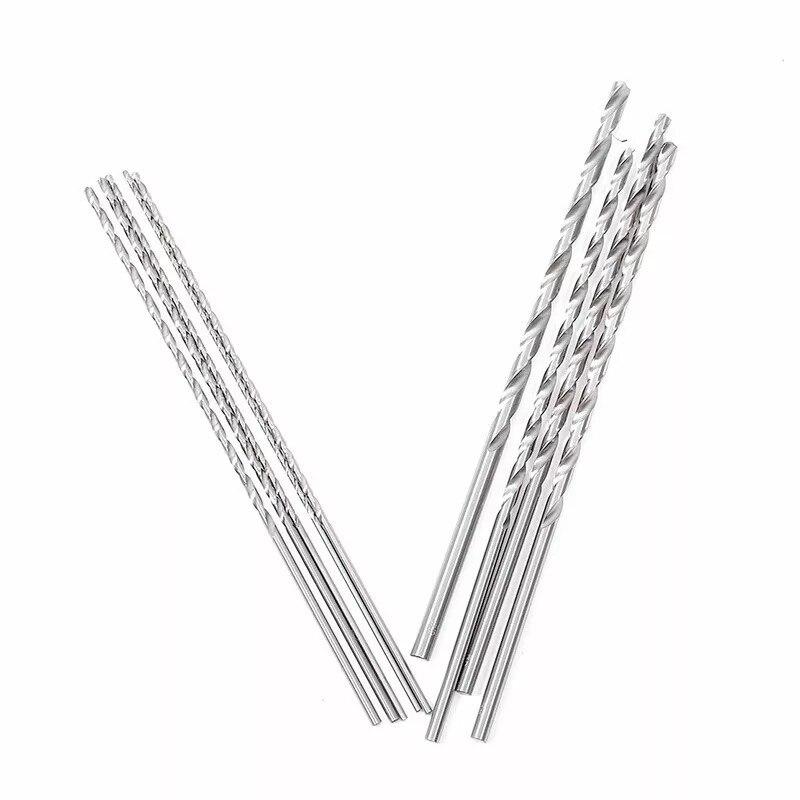 6mm 1 Pc Extra Long 200mm HSS Twist Drill Straigth Shank Auger Drilling Bit