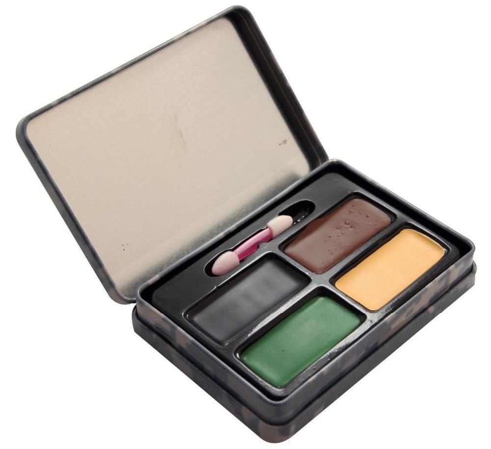 Prix pour 4 couleur Camouflage Camo Face à la peinture New Camo de chasse véritable visage de peinture