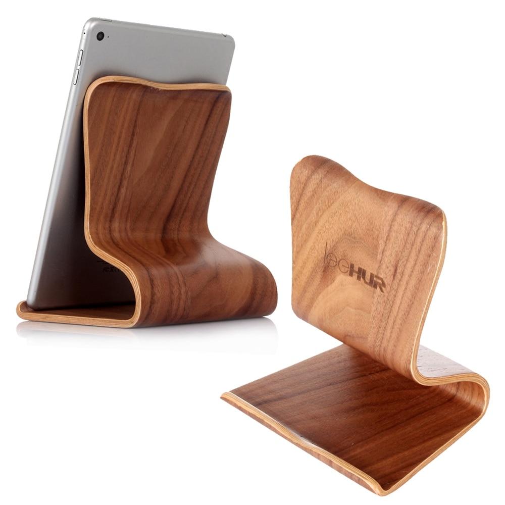 imágenes para Leehur sostenedor del soporte universial tableta de madera del sostenedor del soporte para ipad mini para ipad air/ipad air 2 para ipad Pro