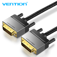 Vention DVI Cable 3M DVI D 24 1 Cable DVI To DVI Cable Male To Male