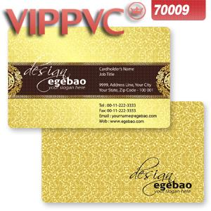 PVC Card for Printing business card a7009 Template for Card Design Double faced Printing CR80