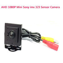 AHD 1080P Mini 2.0MP Camera Sony imx 323 sensor Home Security Surveillance Indoor cctv camera 3.7mm lensFPV Camera free shipping