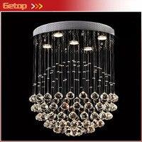 Beste Preis D50cmxH55cm/5 leuchtet Moderne LED Crsytal Kronleuchter