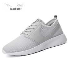 New Men Plus Size Casual Running Shoes Lightweight Sneakers Mesh Breathable Comfortable Men Sports Shoes Fashion Male Sneakers dekabr fashion summer style shoes men casual mesh breathable shoes lightweight comfortable slip on men shoes plus size 34 46