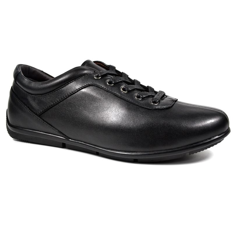 De ChaussuresStyle En Occasionnels Mode Dxkzmcm Marque Pour marron Véritable Cuir Hommes Designer Noir shQtrd