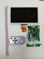 For 7.0 inch Raspberry Pi LCD Display Screen TFT LCD Monitor AT070TN90 + Kit HDMI VGA Input Driver Board Free Shipping