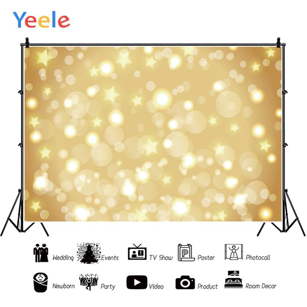 Yeele Polka Dots Shiny Light Bokeh Dreamy Baby Girl Personalized Photographic Backdrops Photography Backgrounds For Photo Studio