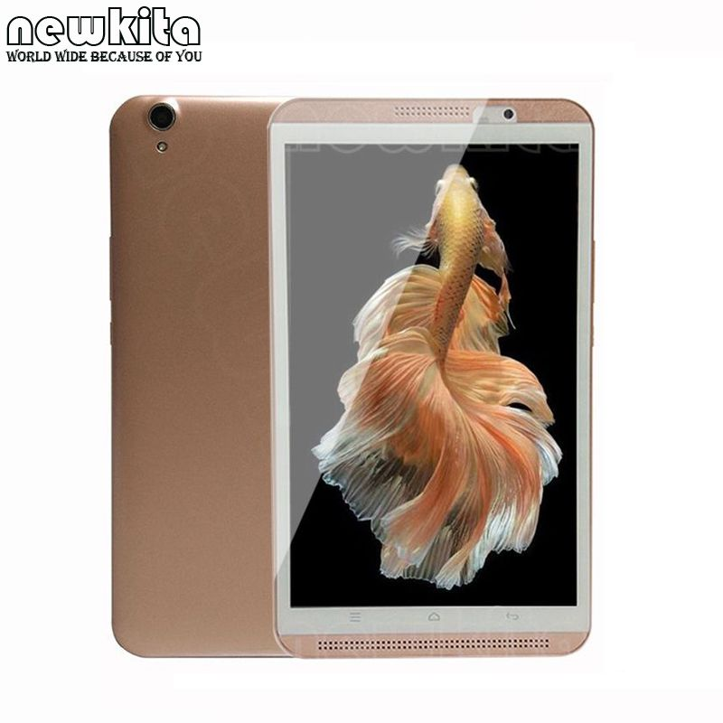 Newkita 8 inch Octa Core 3G 4G lte Tablet PC 1280*800 IPS Bluetooth GPS Android 6.0 Dual SIM card 5+8MP ROM 32GB Tablet 7 9 10.1 автомобильный dvd плеер joyous kd 7 800 480 2 din 4 4 gps navi toyota rav4 4 4 dvd dual core rds wifi 3g