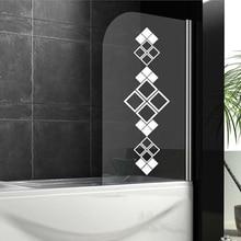Настенные наклейки для ванной комнаты, декоративные наклейки для душевой панели, настенные наклейки