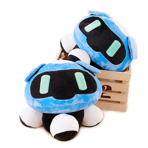 Plush Pillow Cushions Dolls Overwatches Gifts Cosplay Cartoon Stuffed Mei 40cm 1pc Blizzcon