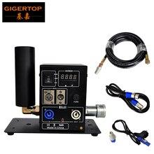 Tiptop Stage Licht Nieuwe Digitale 200W Enkele Pijp Co2 Jet Machine Power Dmx In/Out Afsluitbare Luchtvaart Power plug Lcd scherm